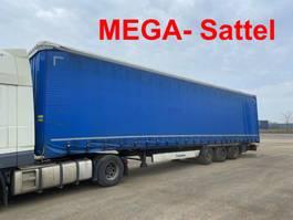 sliding curtain semi trailer Krone ZZ  SD Mega 3 m Innenhöhe 3 Achs Planenauflieger 2014