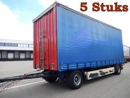 Schiebeplanenanhänger Krone 5 Stuks, 2 As Vrachtwagen Aanhangwagen Schuifzeil, 25-WB-TD, 49-WB-HS, 5... 2008