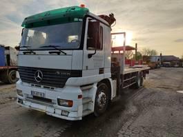 Pritschenwagen  Mercedes-Benz Actros 2531 ** Crane/grue HMF** 1999