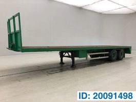 flatbed semi trailer Lag Plateau 1990