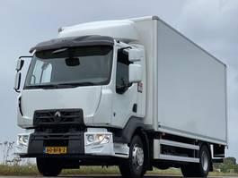 closed box truck > 7.5 t Renault D.14.210. EURO6  550x 249x235  7345kg laadvermogen! 2014