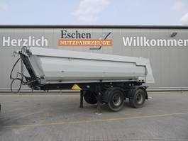 Kipper Auflieger Meiller Kisa 2, 21 m³ Stahlmulde 2013
