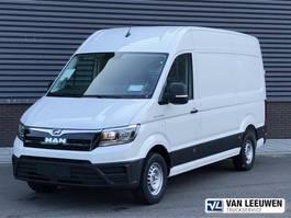 closed lcv MAN TGE 3.140 AUT8 FWD SW Gesloten bestelwagen 2020