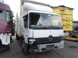 closed box semi trailer Mercedes-Benz Atego 2003