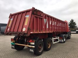 tipper semi trailer Mol 2-assige kipper (K85F/20T/37ST/2) 2005