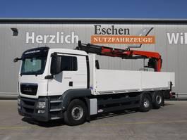 Pritschenwagen  MAN TGS 26.400 6x2 Palfinger PK 21001 L 2014