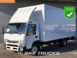closed box truck > 7.5 t Mitsubishi Fuso 7C18 4X2 Ladebordwand manual 2016
