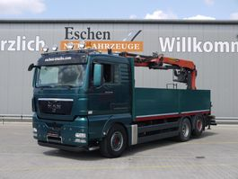 drop side truck MAN TGX 26.440 6x2 2012