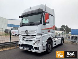 cab over engine Mercedes Benz ACTROS 1851 LS 4X2 400 GIGASPACE MP4 EURO 5 RETARDER 2013
