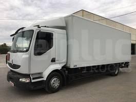 closed box truck > 7.5 t Renault MIDLUM 220.12 LIGHT 2012