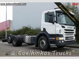 chassis cab truck Scania P 360 // Euro 6