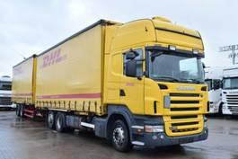 mega-volume truck Scania R420 Euro5 Jumbozug 3+2 Retarder