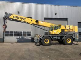 all terrain cranes Grove RT600E 4x4x4 Rough Terrain Crane 2005