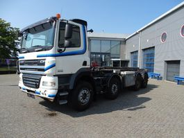 container truck DAF CF85-460 / 8X4 / MANUAL / CABLESYSTEM / STEEL-STEEL / EURO-5 / 2010 2010