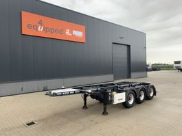 container chassis semi trailer Lag 20FT/3-axles, empty weight: 3.160kg, discbrakes, ADR (EXII, EXII, FL, AT... 2015