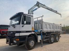 tipper truck > 7.5 t Mercedes Benz Actros 3335K + CORMACH 22.000-E3 2000