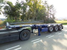container chassis semi trailer Broshuis MFCC 6-2016 TOP-CONDITION !! 2016