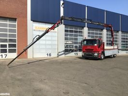 tipper truck > 7.5 t Iveco Stralis 6x4 Euro 5 Fassi 21 ton/meter laadkraan (year 2015) + JIB 2008