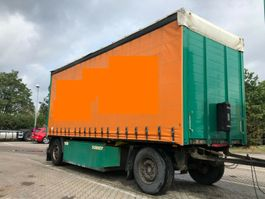 sliding curtain trailer Schmitz Cargobull AFCS Anhänger Plane SAF Edscha 7.30 Palettenk.