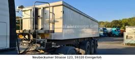 tipper semi trailer Langendorf SKA 24/30 25 cbm Mulde, Liftachse, Plane