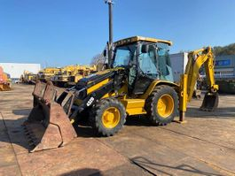 backhoe loader Caterpillar 432 D 4x4 2004