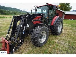 farm tractor Case Farmall 115A w / Trima 240P LOW HOURS 2013