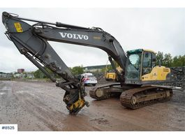 crawler excavator Volvo EC240BLC w/ rotor tilt and digging bucket WATCH VI 2010