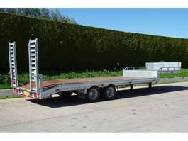 semi lowloader semi trailer Veldhuizen 8,0-tons Semi-dieplader oplegger 2020