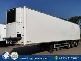 refrigerated semi trailer Chereau 3 AXLE TAILLIFT last axle steering c 2013