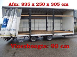 sliding curtain trailer Jumbo TM120Z 2 As Wipkar Schuifzeil - Wipkar Open, WF-46-KF 1990