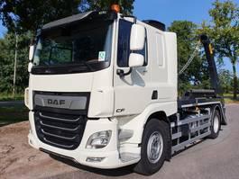 container truck DAF CF 410 FA 4x2 Sleeper Cab Hyva Portaalarm (Nieuw) 2020