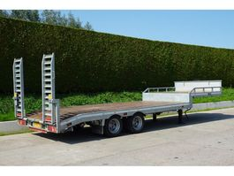semi lowloader semi trailer Veldhuizen 8,0-tons Semi-dieplader oplegger 2019