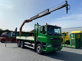 crane truck DAF CF 410 CF 85 - 410 6 x 4 2008
