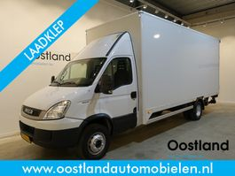 closed box truck > 7.5 t Iveco 65C17 EURO 5 EEV Automaat / Bakwagen / Dhollandia Laadklep / Cruise Control 2011