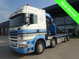 crane truck Scania R 420 ICM Vogelzang aanhanger + 80 T kraan 2008