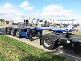 container chassis semi trailer Broshuis MFCC 6-2016 top-top-top 2016