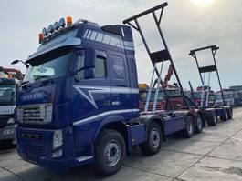 swap body truck Volvo FH 13-500 8X2 EURO 5 BDF + VAN HOOL 3 AS AANHANGWAGEN 2013 2013