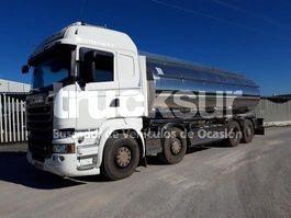 closed box truck > 7.5 t Scania R520 8 X2*6 2017