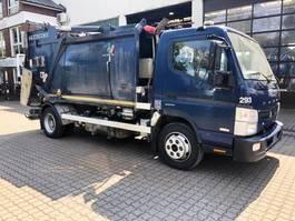 garbage truck Mitsubishi Canter Mazzochia Jolly Euro 6/Klima 2016