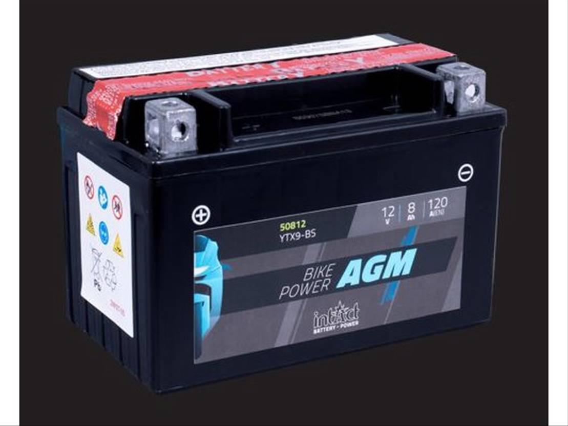 accu motorcycle part Diversen Batterij 12V 8AH (c20) 120A (EN) 50812