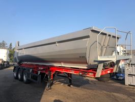 tipper semi trailer Kel-Berg T250 / T110 HARDOX 3 AXEL TIP / DAMAGE 2020
