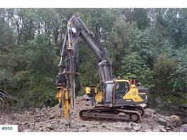 Trivella di terra Volvo EC250EL Excavator with GPS and AMV XD1155T Drillin 2016
