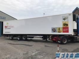 refrigerated semi trailer Groenewegen 3 ass gestuurde koeler Carr Max 1300 120 uur!!! 2005