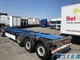 semirimorchio portacontainer Schmitz Cargobull SGF*F3 3ass  cont chassis voor alle containers 2014