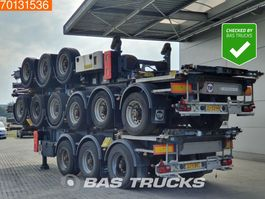 Container-Fahrgestell Auflieger Van Hool Price per Unit!  3 axles ADR 1x 20 ft 1x30 ft Liftachse 2007