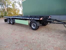 container chassis trailer Meiller A24EL5.8 - 3 As Aanhangwagen T.b.v. BDF laadbakken – Vuil Containers - D... 2004