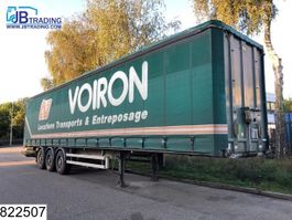 sliding curtain semi trailer Samro Tautliner Disc brakes 2009