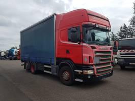 грузовик с наклонной платформой Scania R440 6x2 2008