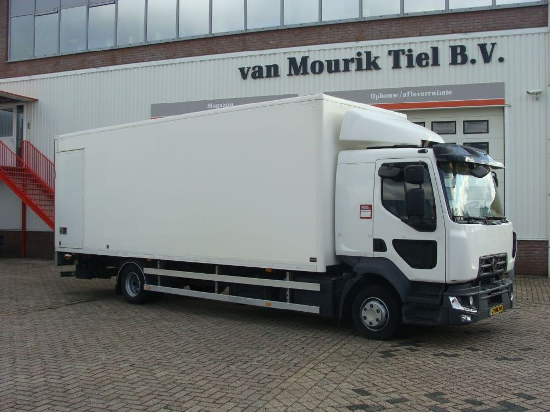 closed box truck > 7.5 t Renault D12 220 PK - EURO 6 - 21-BKJ-8 2018