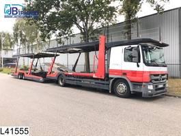 car transporter trailer Lohr Middenas Actros 1841 Lohr, Multilohr, EURO 5, Retarder, Standairco, Airc... 2001